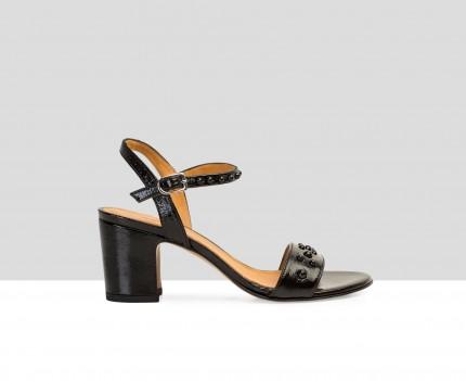 Sandalia de mujer en piel...